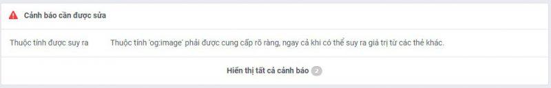 Facebook-debugger-error