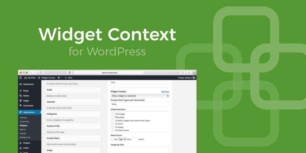 Widget-context-header